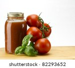 Fresh Tomatoes  Basil And...