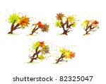 autumn abc   Shutterstock .eps vector #82325047