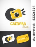 Abstract Stylized Camera Icon...