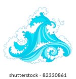 abstract background with... | Shutterstock . vector #82330861