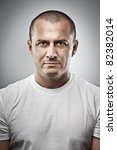 fine art portrait of a menacing ... | Shutterstock . vector #82382014