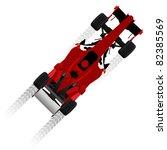 formula racing car | Shutterstock .eps vector #82385569