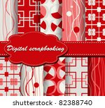 set of vector paper for... | Shutterstock .eps vector #82388740