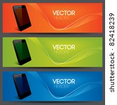 vector website headers  smart... | Shutterstock .eps vector #82418239