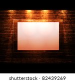 empty frame on brick   wall | Shutterstock .eps vector #82439269