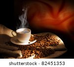 Steaming Cup Of Coffee ...