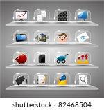 website internet icons ... | Shutterstock .eps vector #82468504