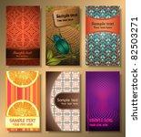 vector cards | Shutterstock .eps vector #82503271