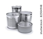 Four Different Tin Cans...