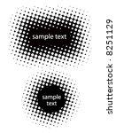 vector halftone banners   Shutterstock .eps vector #8251129