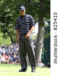 Tiger Woods PGA Golf Professional - stock photo