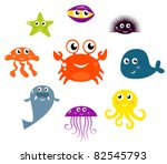 sea creatures and animals...