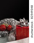 christmas decorations and gift... | Shutterstock . vector #82549348
