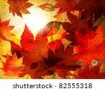 Beautiful Autumn Background Fo...