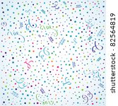 birthday background with...   Shutterstock .eps vector #82564819