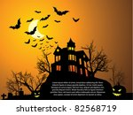 Halloween With Haunted House ...