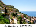 View On Town Taormina From...
