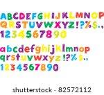 alphabet | Shutterstock .eps vector #82572112