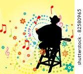 music men | Shutterstock .eps vector #82580965