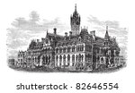 manchester assize courts in... | Shutterstock .eps vector #82646554