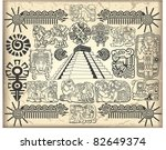 maya set 2 | Shutterstock .eps vector #82649374