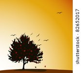 halloween background vector...   Shutterstock .eps vector #82652017