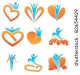 vector collection of health ... | Shutterstock .eps vector #82654429