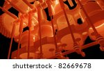 engine background V8 isolated on black 3d render - stock photo
