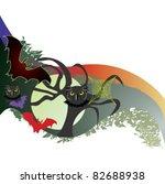 halloween night banner   Shutterstock .eps vector #82688938