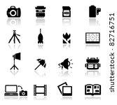 icons set school | Shutterstock .eps vector #82716751