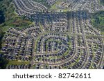 A planned residential community - an aerial near Pearl City, Oahu