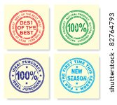 stamp. vector illustration. | Shutterstock .eps vector #82764793