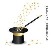 magic hat vector | Shutterstock .eps vector #82774966
