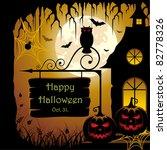 halloween design | Shutterstock .eps vector #82778326