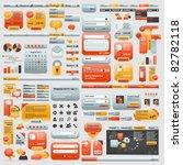 great collection of website... | Shutterstock .eps vector #82782118