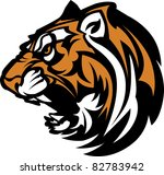 tiger mascot graphic | Shutterstock .eps vector #82783942
