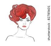 vector illustration glamour... | Shutterstock .eps vector #82785601