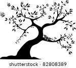 A Single Black Tree With Three...