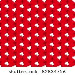 vector red seamless pattern...