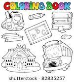 Coloring Book School Collectio...