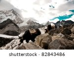 himalayas | Shutterstock . vector #82843486