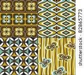 retro seamless pattern... | Shutterstock .eps vector #82865773