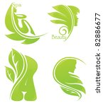 vector collection of spa and... | Shutterstock .eps vector #82886677