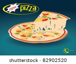 new pizza | Shutterstock .eps vector #82902520