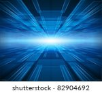 virtual tecnology vector... | Shutterstock .eps vector #82904692