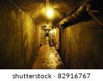 Casa Loma Tunnel in Toronto, Canada - stock photo