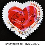 france   circa 2003  a stamp... | Shutterstock . vector #82922572