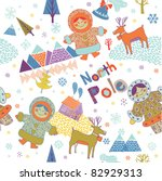 north pole | Shutterstock .eps vector #82929313