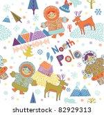 north pole | Shutterstock .eps vector #82929313