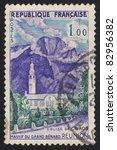 france   circa 1958  a stamp... | Shutterstock . vector #82956382